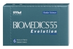 Biomedics 55 Evolution UV - 6pcs. contact lenses