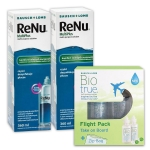 2 x ReNu MultiPlus 360 ml + Biotrue Flight Pack ...